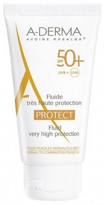ADERMA PROTECT FLUID SPF 50+ 40ML