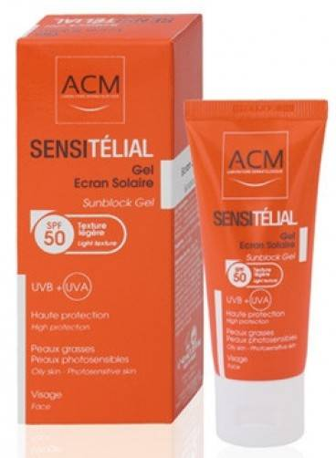 ACM SENSITELIAL GEL SPF 50+*40ML