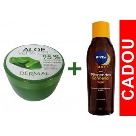 Aloe Vera Gel 95% (uz cosmetic) DERMAL + CADOU NIVEA
