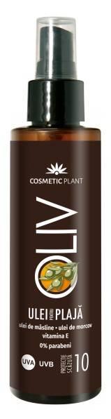 Ulei Spray Pentru Plaja Olive Spf 10 150ml Cosmetic Plant