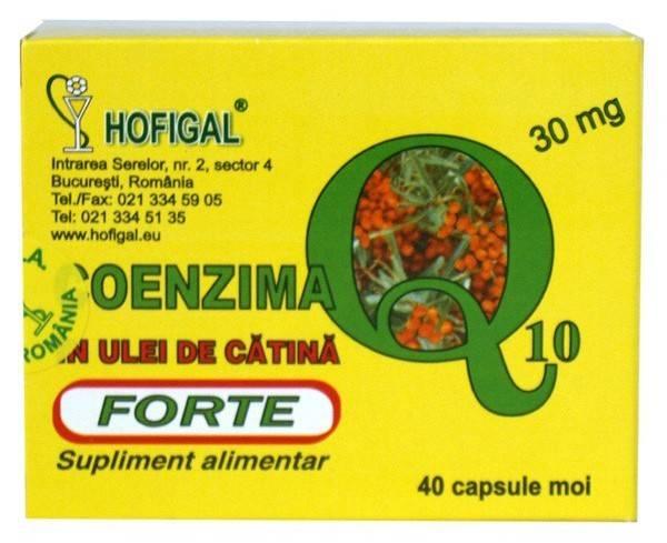 coenzima q10 30mg in ulei de catina forte 40cps moi