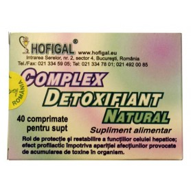 Complex detoxifiant natural 40 compr