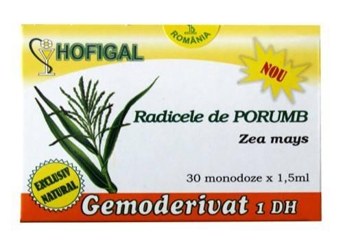 radicele de porumb - gemoderivat 30 monodoze hofigal