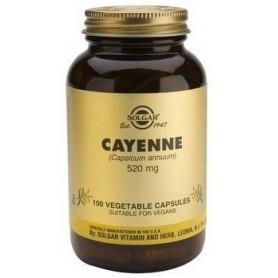 CAYENNE veg.caps 100cps SOLGAR