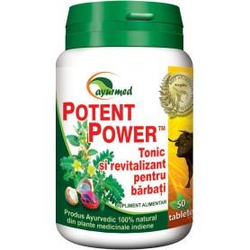 Potent Power Ayurmed - 50 tablete