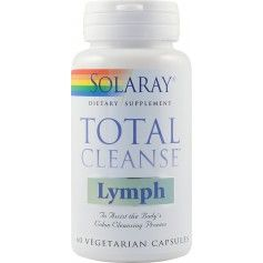 TOTAL CLEANSE LYMPH 60CPS SOLARAY