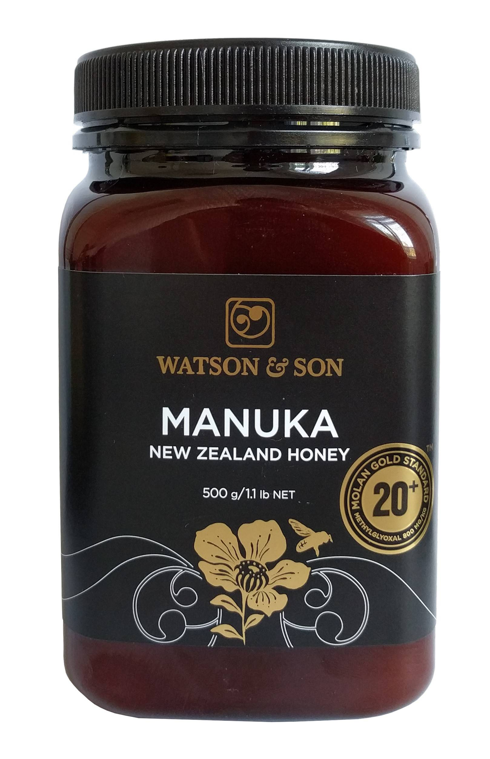 miere de manuka 800+mgo (20+) 500gr watson & son