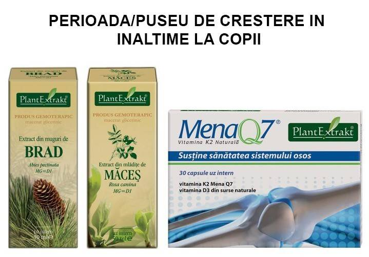 PACHET PLANTEXTRAKT PUSEU DE CRESTERE COPII