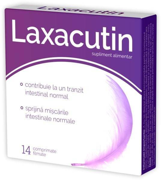 laxacutin 14 cpr zdrovit