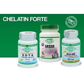CHELATIN FORTE - PROCEDURA ESENTIALA DE CHELATINARE EDTA