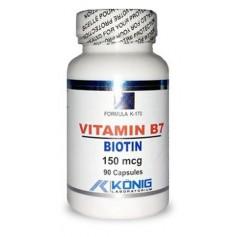 VITAMIN B7 - BIOTIN 150MCG 90CPS  provita