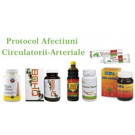 Protocol Afectiuni Circulatorii-Arteriale