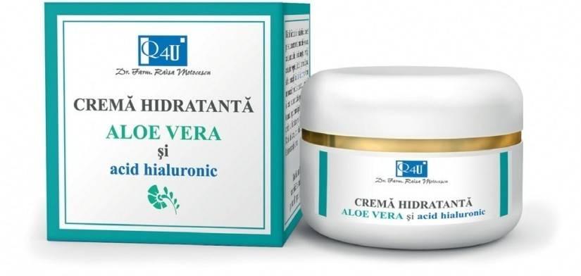 Crema Hidratanta cu Aloe si Acid Hyaluronic - 50 ML