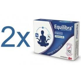 Equilibra cu Magneziu si Vitamina B6 1+1 Cadou
