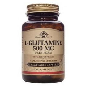 L-GLUTAMINE 500mg veg.50cps SOLGAR
