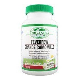 FEVERFEW GRANDE CAMOMILLE 125MG 90 CPS