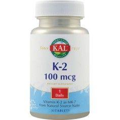 Vitamina K-2 100mcg Secom - 30 cpr