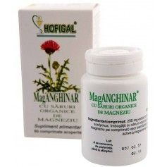 MagANGHINAR cu Saruri Organice de Magneziu 60CPR