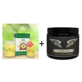 Laptisor de matca 100 g + 25 g Gratis + Angel's Tea 28g