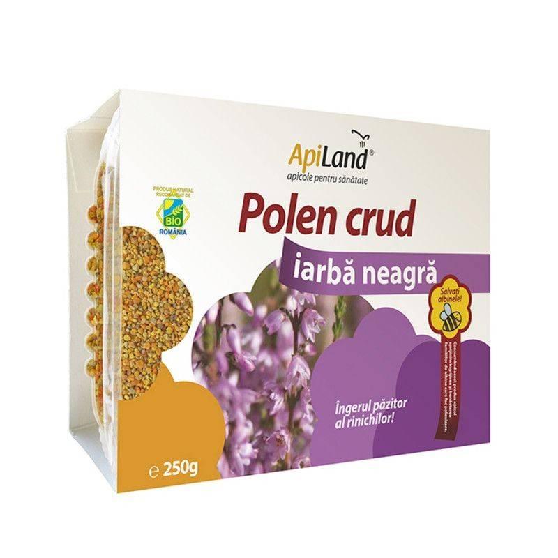 Polen crud iarba neagra 250gr Apiland