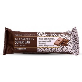 Woman Collection Super bar - Baton low carb ciocolata 40g -GOLDNUTRITION