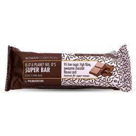 Woman Collection Super bar - Baton low carb ciocolata 40g -GOLDNUTRITION