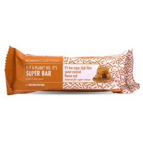 Woman Collection Super bar - Baton low carb caramel 40g -GOLDNUTRITION