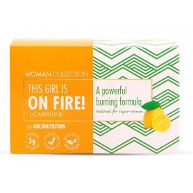 Woman Collection On Fire - L-carnitina Lamaie 15 doze - GOLDNUTRITION