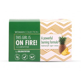 Woman Collection On Fire - L-carnitina Ananas 15 doze -GOLDNUTRITION
