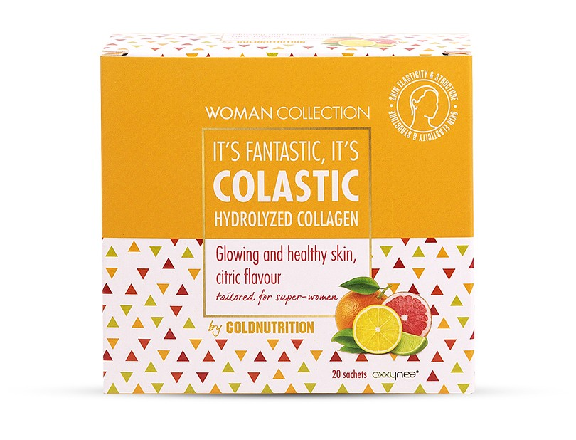 Colagen hidrolizat Citrice 20 doze - Woman Collection Colastic - GOLDNUTRITION