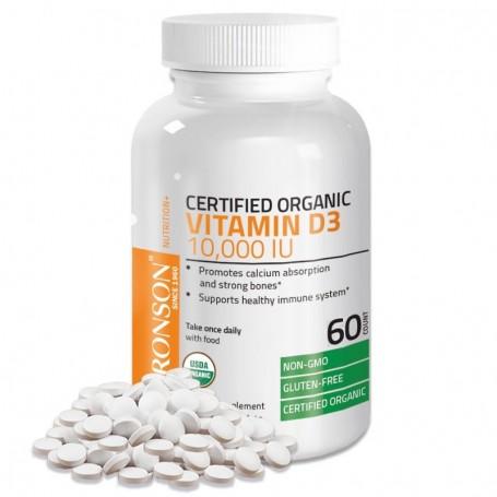 Vitamina D3 10000UI 60 capsule