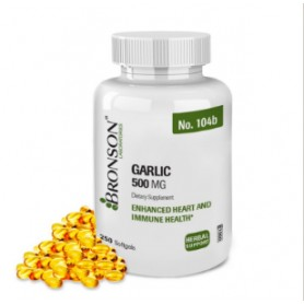 Garlic 500mg 250 capsule ODORLESS