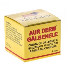 Aur Derm Galbenele Rasina Conifere Crema 50ml Laur Med