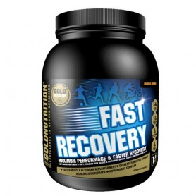 Pudra recovery, GoldNutrition, FAST RECOVERY FRUCTUL PASIUNII, 1 KG