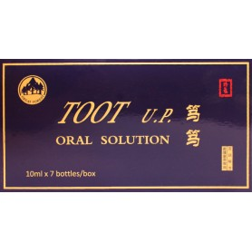 Toot U.P 10ml X 7 bottles