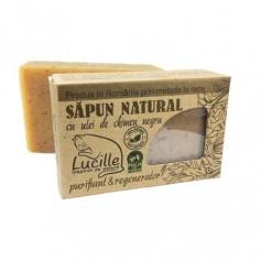 Sapun natural cu ulei de chimen negru -purifiant si regenerator, Lucille, 90 g