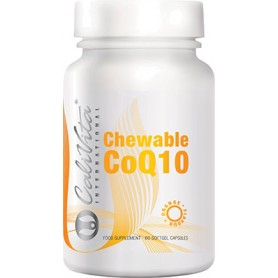 Chewable coQ10 orange flavour