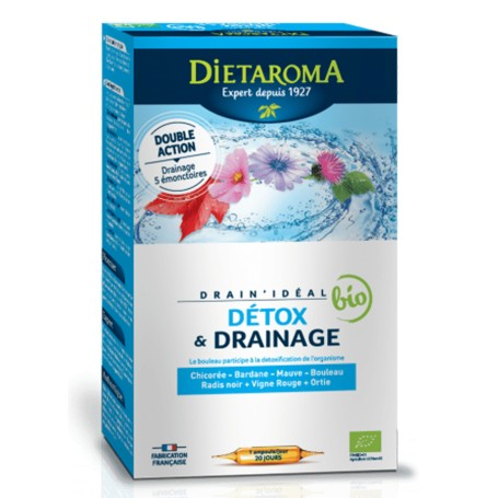 DRAIN IDEAL 20 fiole x 15ml Diet Aroma