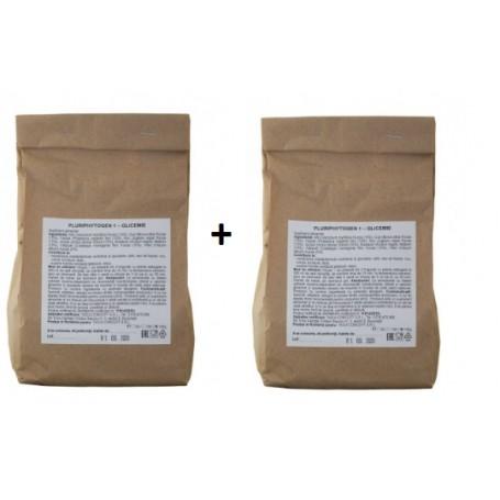 Pachet -  Ceai pentru glicemie 150g Pluriphytogen 1+1 GRATIS