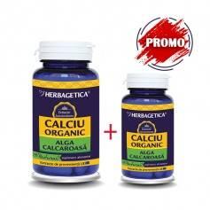 Calciu Organic Alga Calcaroasa - 60 CPS + 10 CPS