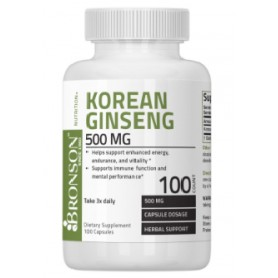 KOREAN GINSENG 500MG 100CPS - Bronson