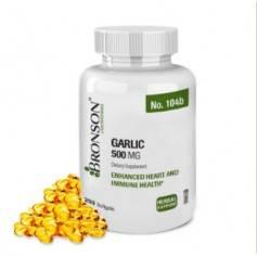 Garlic ( Usturoi ) 500mg 250cps - Bronson