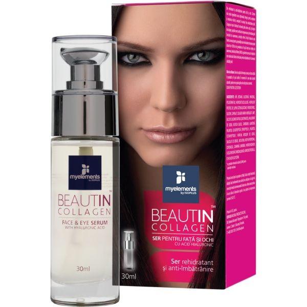 Beautin Collagen Ser pentru Ten si Ochi x 30ml