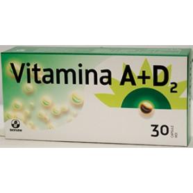 Vitamina A+D2 30 cps
