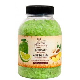 Sare de baie cu lamaie verde si ghimbir 1200 g