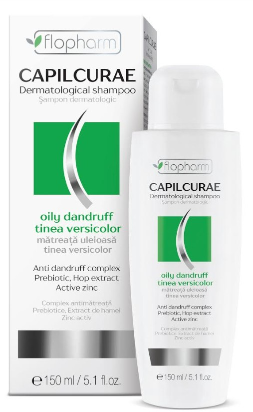 Capilcurae - Sampon dermatologic antimatreata ( scalp gras ) 150 ml