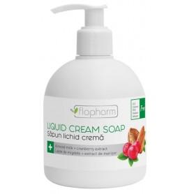 Sapun lichid crema - lapte de migdale si merisor 250 ml