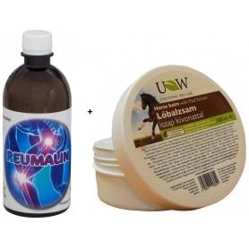 Reumalin + BALSAM PUTEREA CALULUI cu extract de NAMOL 100ml