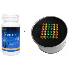 Neuro Health + Bile magnetice anti-stres