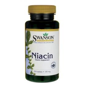 Vitamina B3 (Niacina) - 100 mg 250 cps